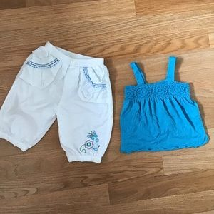 The Children's Place pants and top set.